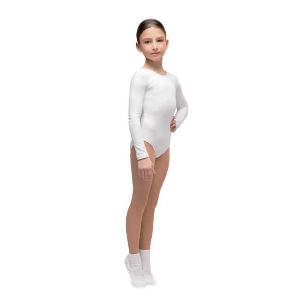 Купальник гимнастический детский Korri, цв. белый