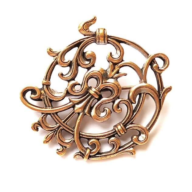 Брошь женская Сольферино Jenavi j275u690 старинная медь