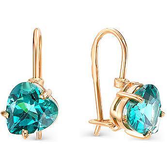 Серьги женские из золота Magic Stones 09-1-014-4200-010, аквамарин
