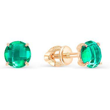 Серьги женские из золота Magic Stones 05-1-027-0900-010, агат