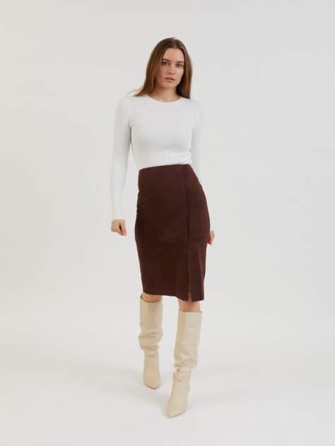 Женская юбка Zolla z0213278770337900, коричневый