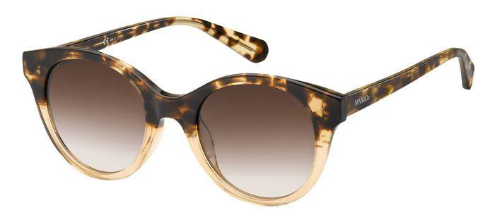Солнцезащитные очки женские MAX & CO. MAX&CO.369/S, коричневые/бежевые