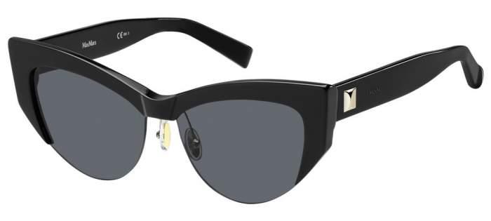 Солнцезащитные очки женские Max Mara MM LINA I, серые/черные