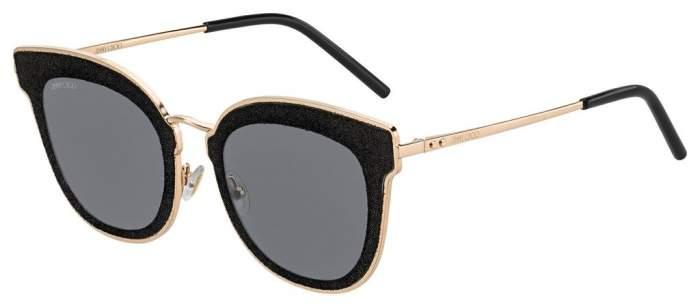 Солнцезащитные очки женские Jimmy Choo NILE/S, серые/золотистые