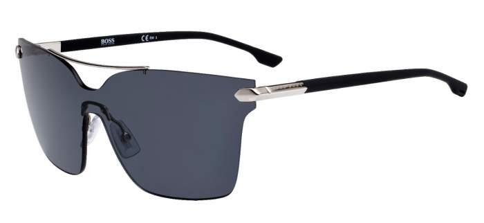 Солнцезащитные очки женские BOSS BOSS 0979/S, серые/серые