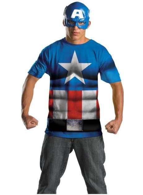 Костюм Disguise Капитан Америка Взрослый L/XL (52-58)