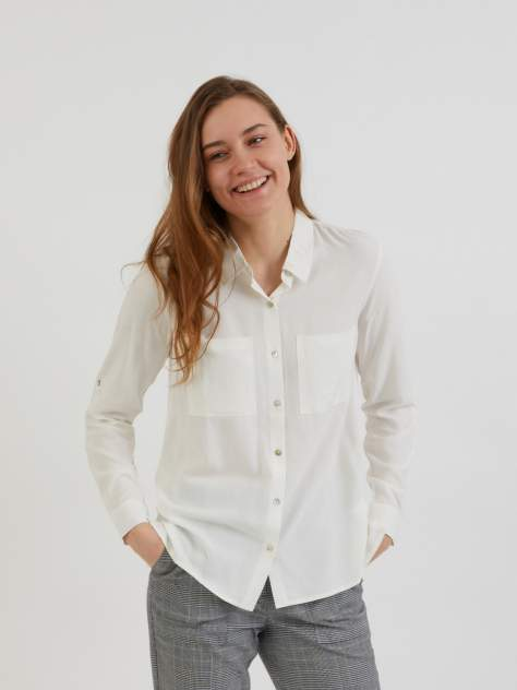 Женская блуза Zolla z22132117Y0821000, бежевый