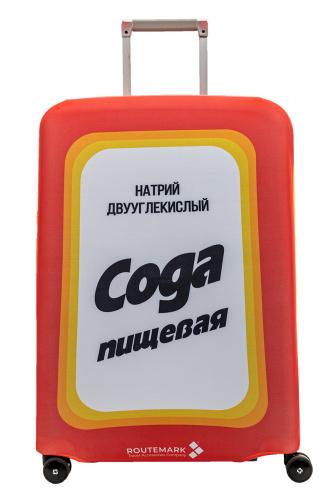 Чехол для чемодана Routemark Сода, красный