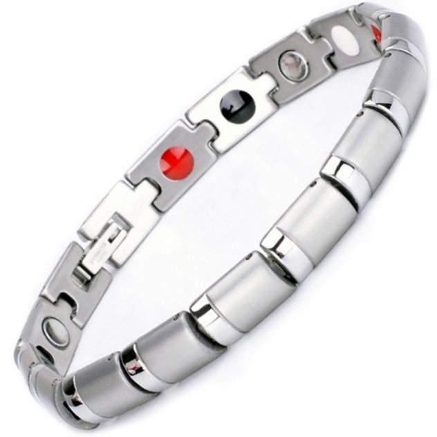 Магнитный браслет Luxor Shop Апачи silver