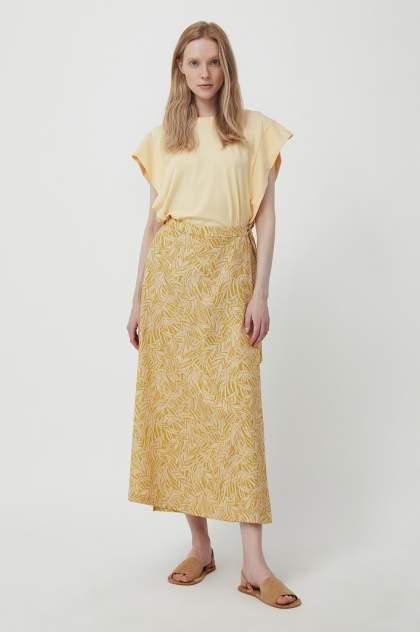 Женская юбка Finn Flare S21-14083, желтый