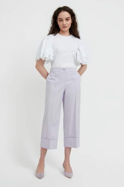 Женские брюки Finn Flare S21-11040, фиолетовый