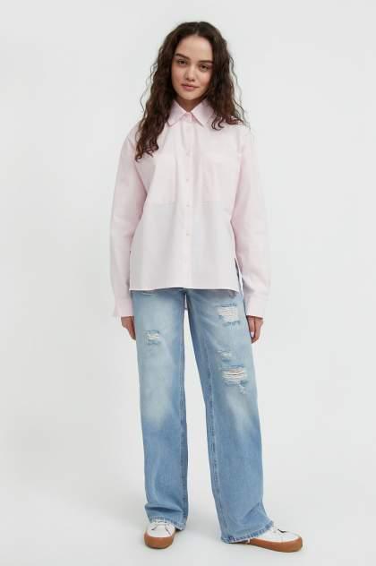 Женская блуза Finn Flare S21-11051, розовый