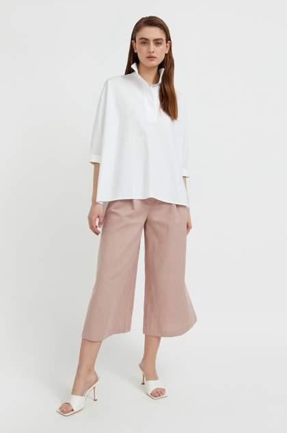 Женские брюки Finn Flare S21-110111R, бежевый