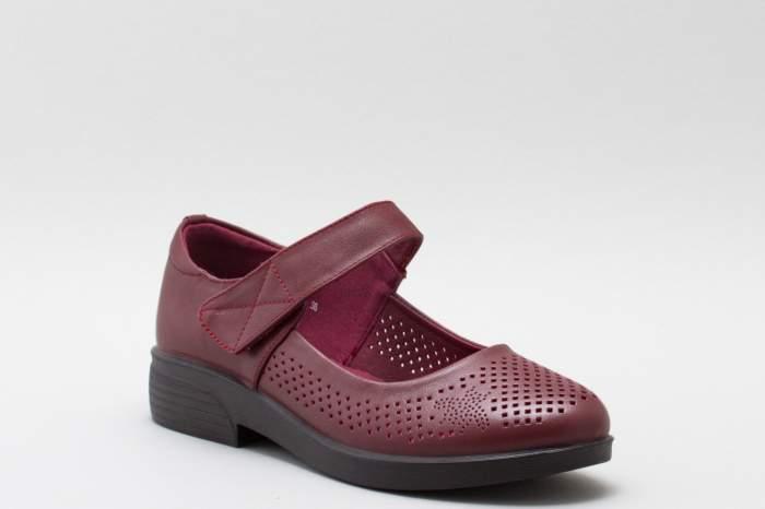 Женские сандалии PM SHOES 19-338515-511, бордовый