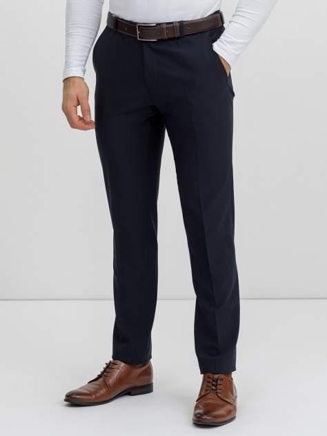 Классические брюки мужские Marc De Cler B-Prius 30416-6-182 синие 48 RU