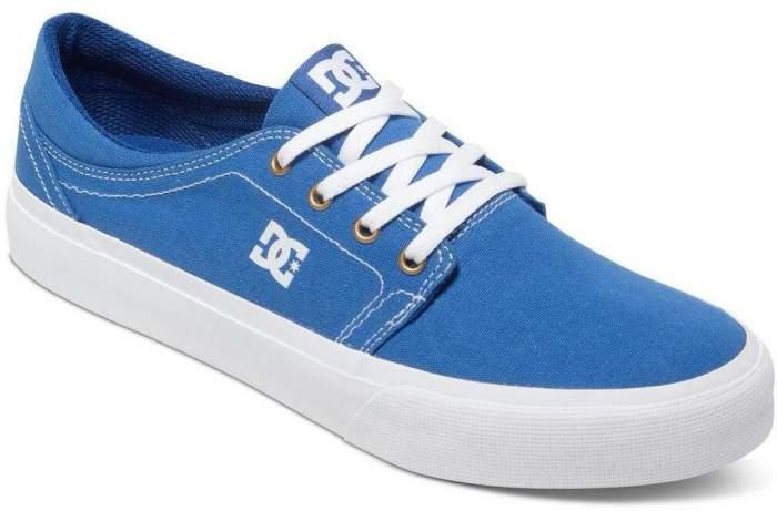 Кеды Dc Shoes Trase Tx M blue/white 6,5 US