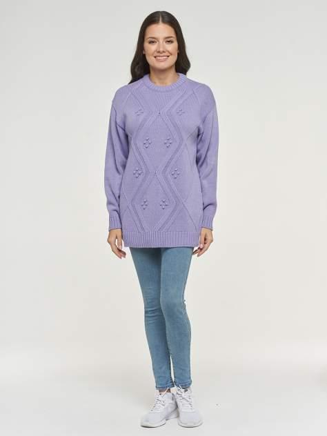 Пуловер женский VAY 192-4067 фиолетовый 56