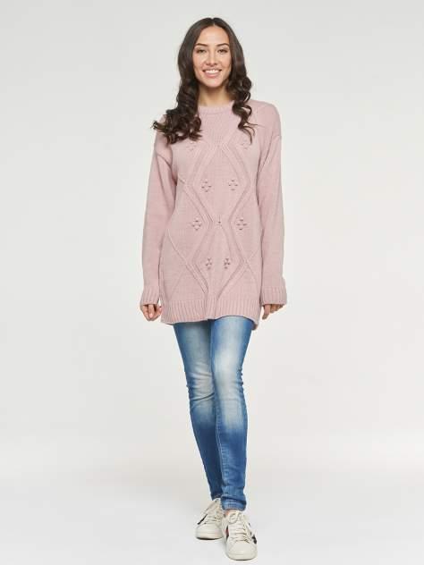 Пуловер женский VAY 192-4067 розовый 56