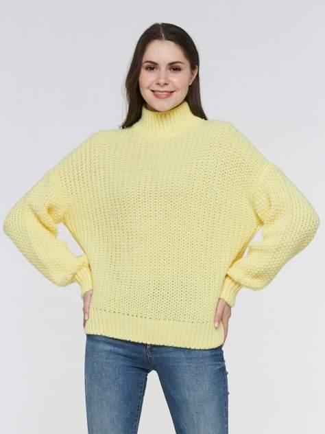 Свитер женский BE YOU BY192-40001 желтый 46