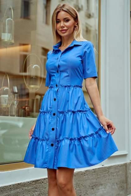 Платье женское Hochusebetakoe ST 125 ДЖИНС синее 42