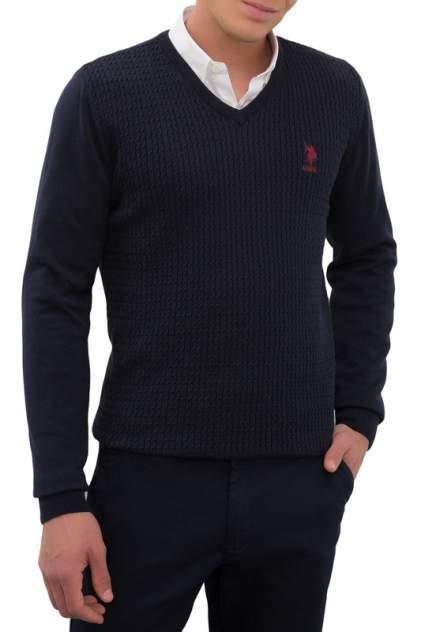 Пуловер мужской U.S. POLO Assn. G081GL0TK0GROV-GLBSK20 синий 48