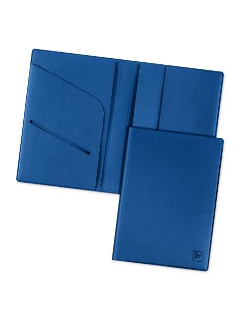 Обложка для паспорта с дополнительными отделениями Flexpocket KOP-01 синяя