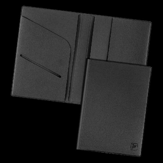 Обложка для паспорта с дополнительными отделениями Flexpocket KOP-01 черная