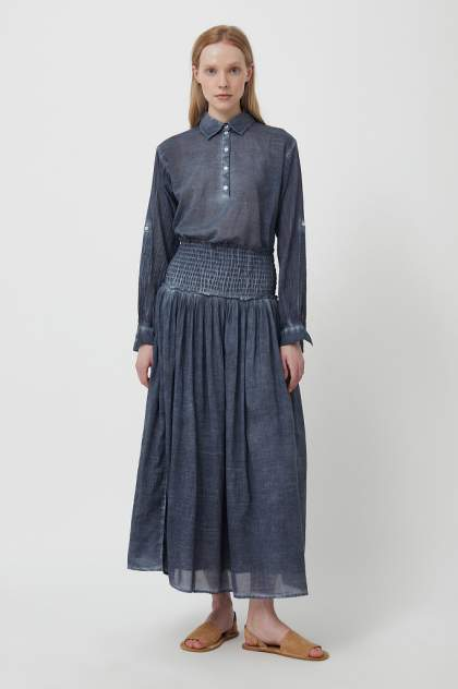 Женская юбка Finn Flare S21-14092, синий