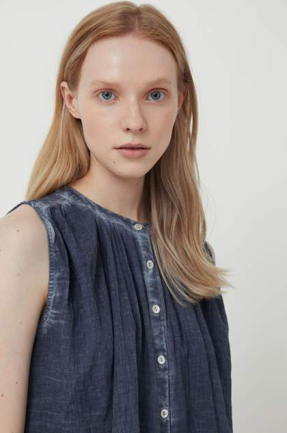 Женская блуза Finn Flare S21-14091, синий
