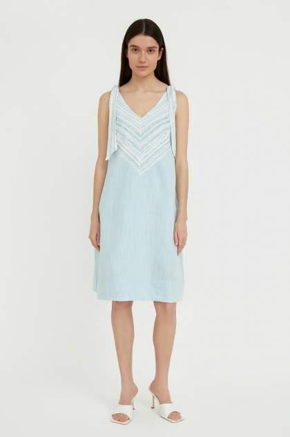 Женское платье Finn Flare S21-14039, голубой