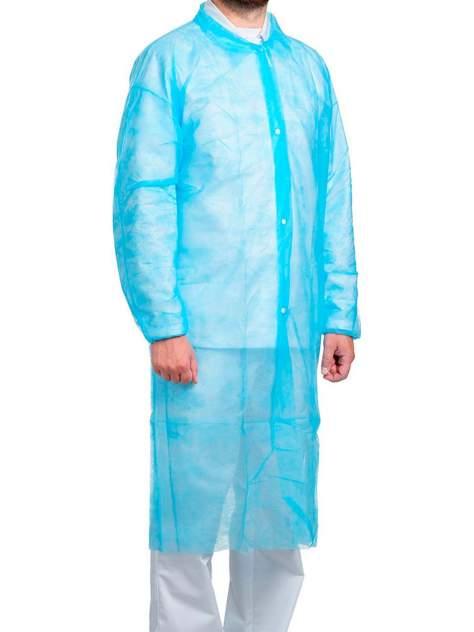 Халат медицинский унисекс WHITE PRODUCT ONLINE голубой 52-54