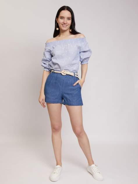 Женская блуза Zolla z02125125901351E0, голубой