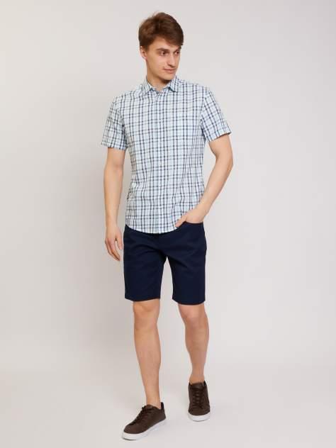 Рубашка мужская Zolla z01125229101361C0 голубая XL
