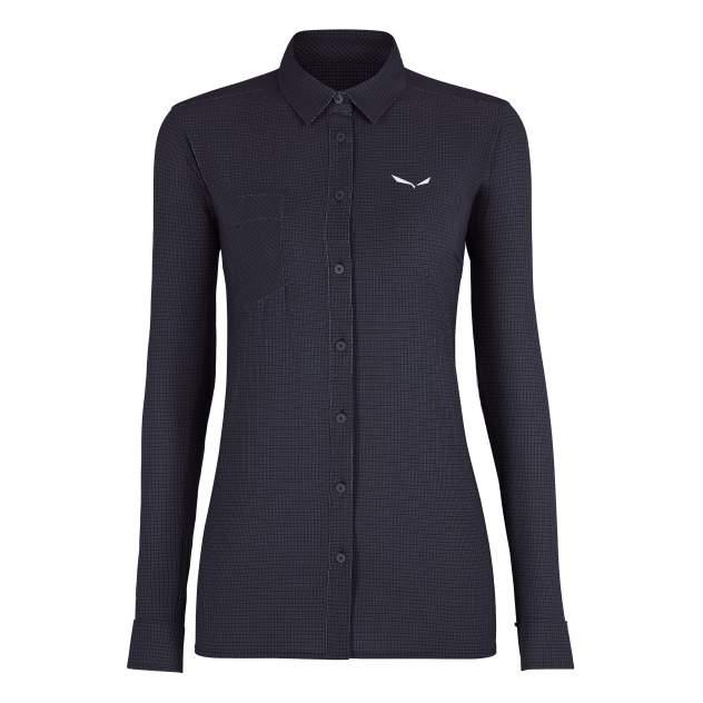 Рубашка Salewa Puez Minicheck 2 Dry Women's, premium navy, 40 EU