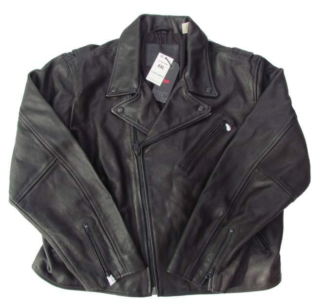 Мужская кожаная куртка Levi's 477650000, черный
