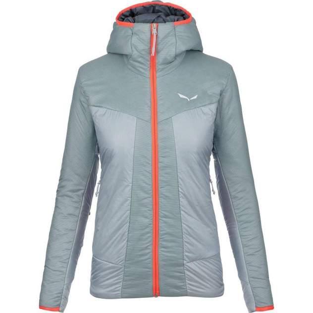 Спортивная куртка Salewa Puez 2 Tirolwool® Celliant® Women's, голубой, серый