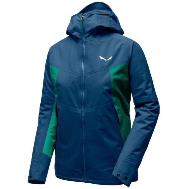 Куртка Salewa Puez 2 Ptx 3L W Jkt, синий, зеленый