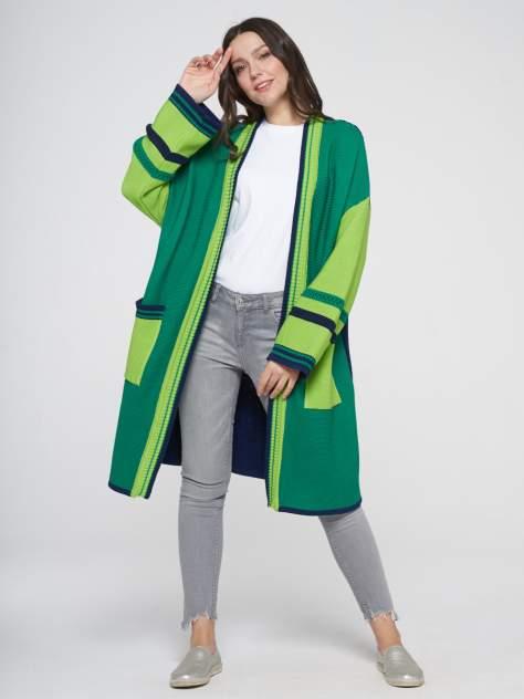 Кардиган женский VAY 201-1623 зеленый 48