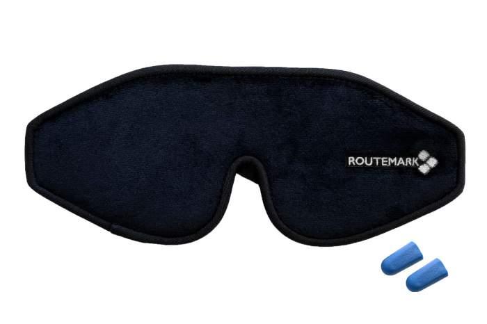 Маска для сна Routemark 3D Эволюция черная