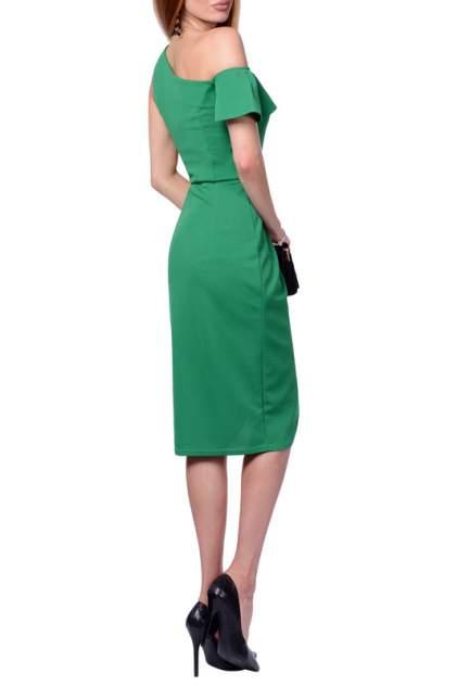 Платье женское FRANCESCA LUCINI F0713-6 зеленое 48 RU