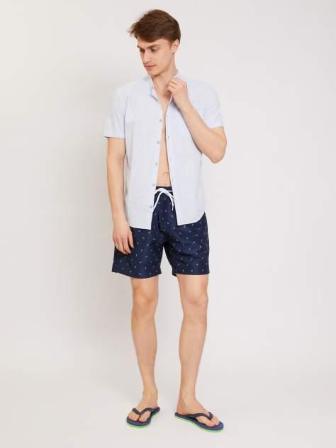 Рубашка мужская Zolla z0112622620635100, голубой