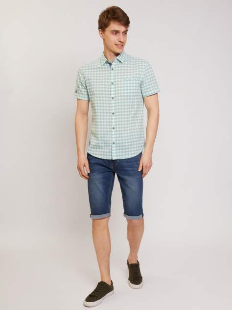 Рубашка мужская Zolla z21126225901370C0 зеленая L