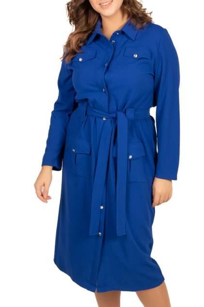 Платье женское BELUCHI Сафари фиолетовое 48 RU