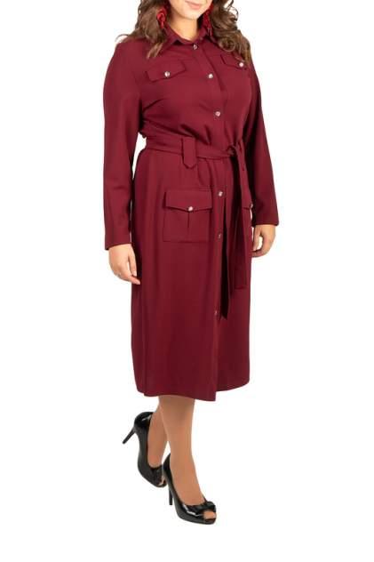 Платье женское BELUCHI Сафари красное 48 RU