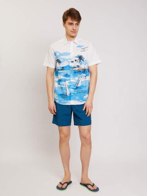 Рубашка мужская Zolla z01126225907101P0 белая XXL