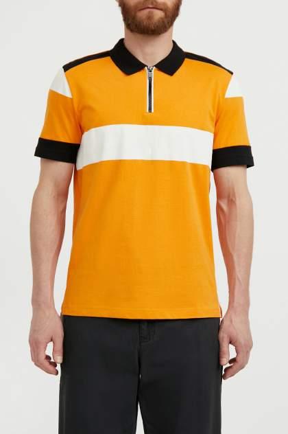 Футболка-поло Finn Flare S21-42009, желтый