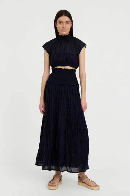 Женская юбка Finn Flare S21-110107, синий