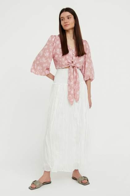 Женская юбка Finn Flare S21-110107, белый