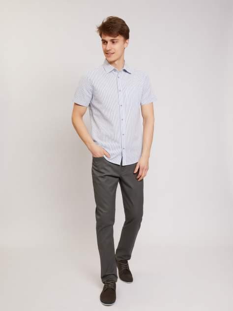 Рубашка мужская Zolla z01125227W02351S0 голубая L
