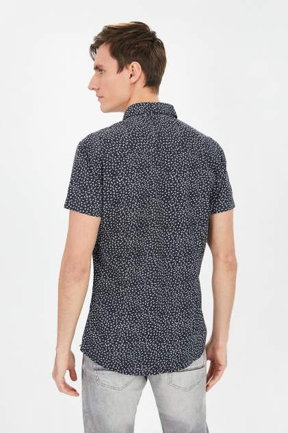 Рубашка мужская Baon B681003, синий